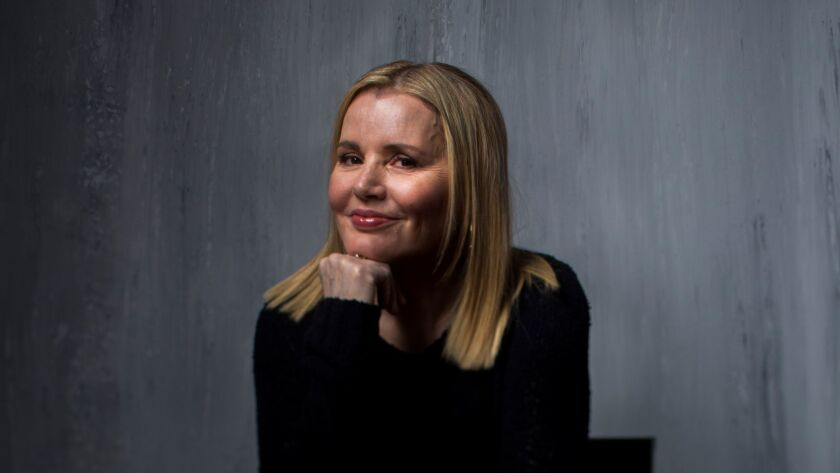 "Actress Geena Davis in the L.A. Times photo studio during the 2017 Sundance Film Festival for the film ""Marjorie Prime."""