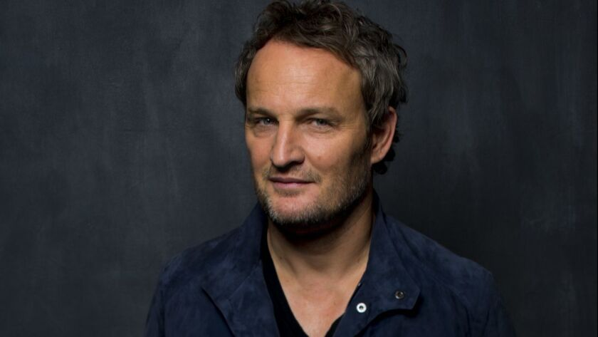 "TORONTO, ON, CA--TUESDAY, SEPTEMBER 12, 2017 - Actor Jason Clarke from the film ""Mudbound,"" photogra"