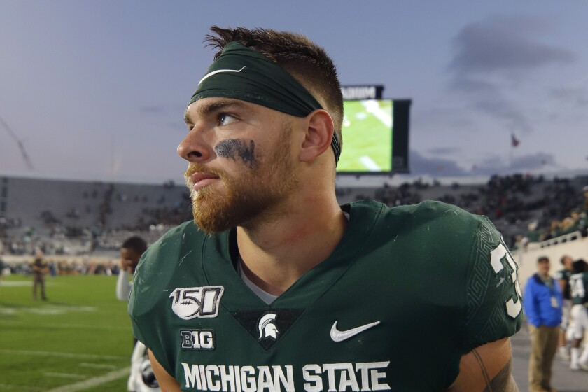 Michigan St-Player Ineligible Football