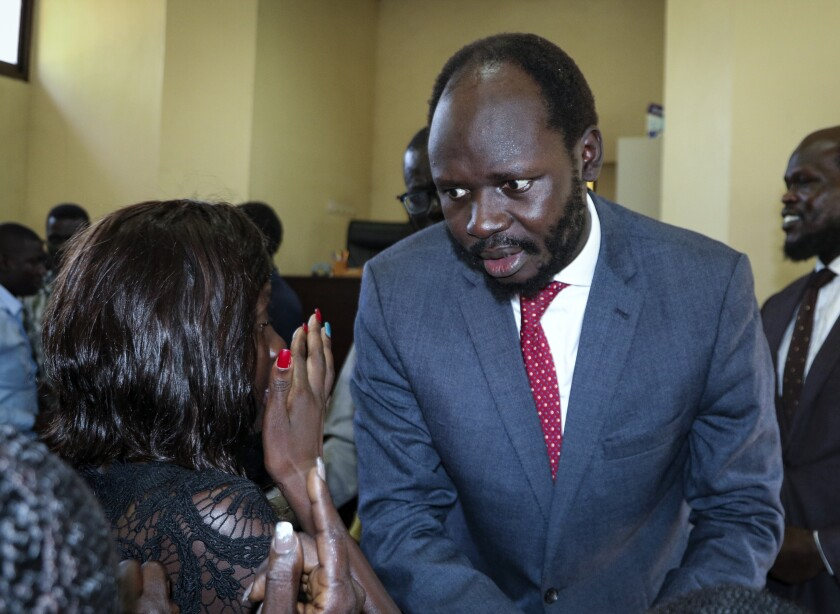 South Sudan Prisoners Pardoned