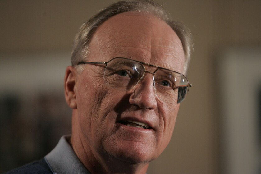 Marty Schottenheimer, coach of the San Diego Chargers speaks at a news conference on Wednesday, Jan. 17, 2007.