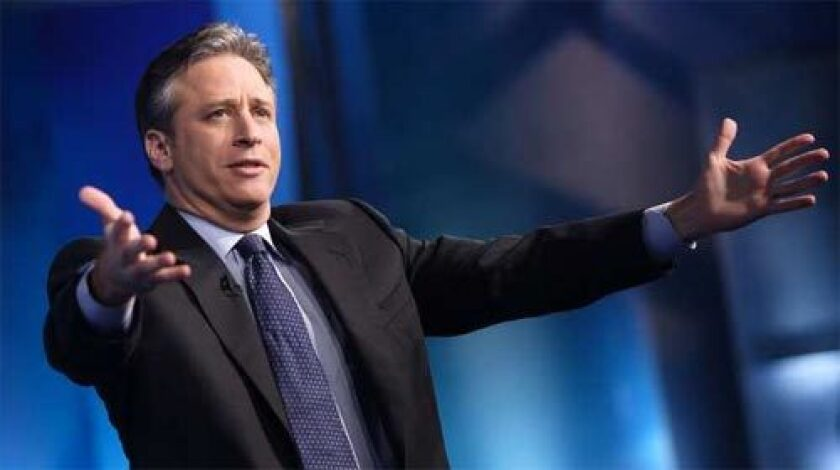 """'DAILY SHOW': Jon Stewart has arranged with Comedy Central to continue paying his show's nonwriting staff members during the writers strike, as has Stephen Colbert and his """"Colbert Report."""""""