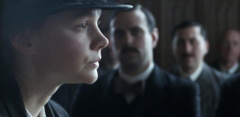 "Carey Mulligan stars as Maud Watts in director Sarah Gavron's movie ""Suffragette."""