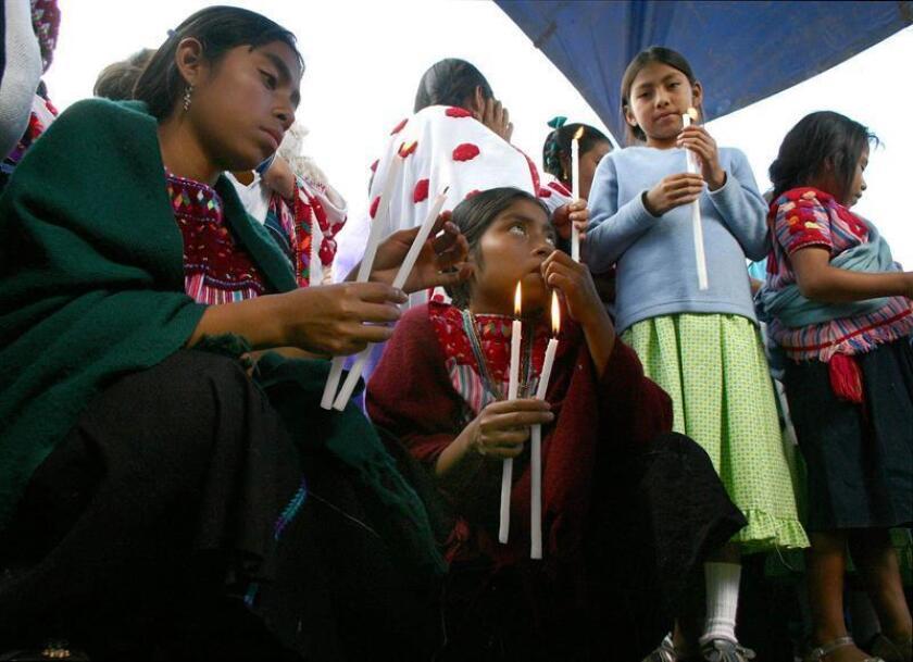 Desplazados de Chalchihután apelarán la resolución judicial sobre el conflicto agrario con su vecino Chenalhó, informó hoy a Efe su vocero Nicomedemo Aguilar. EFE/ARCHIVO