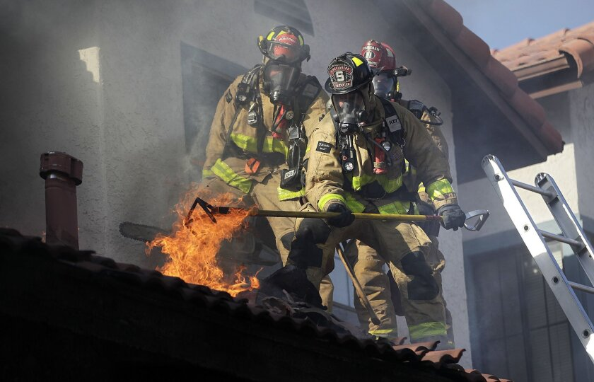 The lack of legally binding disability benefits for new San Diego firefighters and other employees is one of the issues hanging during the pending challenge of the city's pension overhaul.