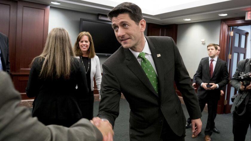 House Speaker Paul Ryan.
