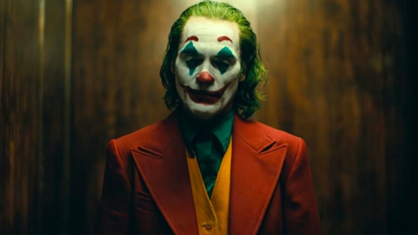 """Mark Strong, left, in """"1917"""" and Joaquin Phoenix in """"Joker."""""""