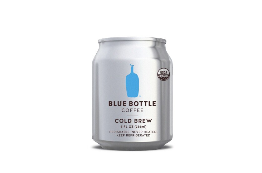 You can soon get your Blue Bottle cold brew coffee fix from a can - Los  Angeles Times