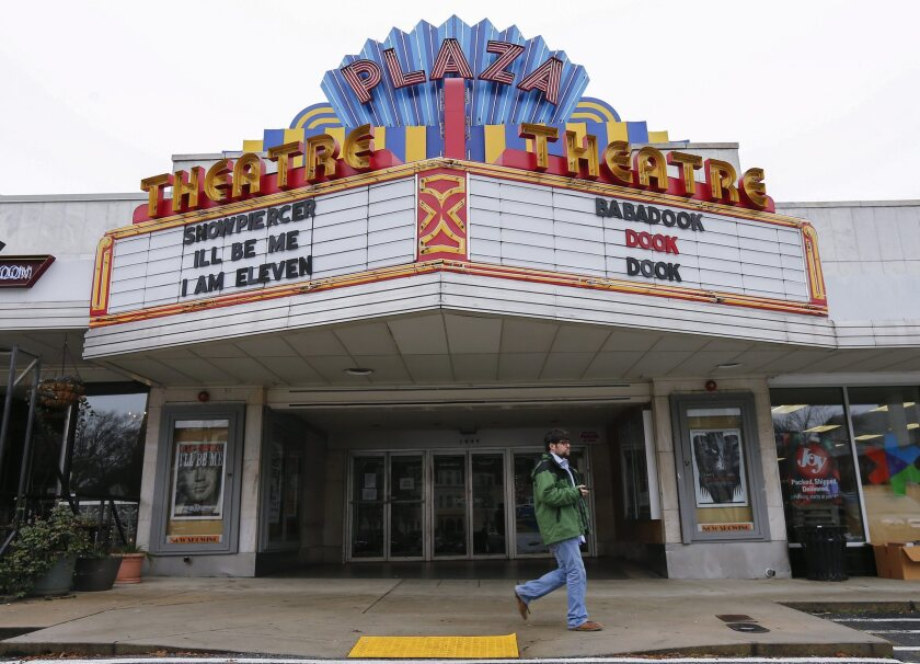The Plaza Theatre annouces it will show the movie 'The Interview'