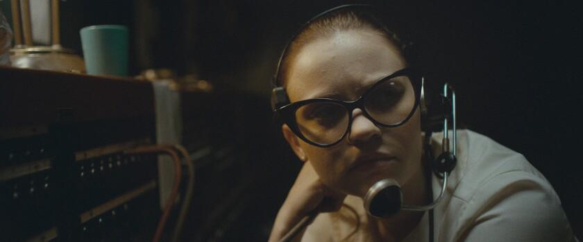 Sierra McCormick in the movie 'The Vast of Night'