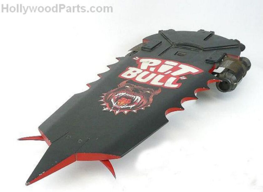 """A prototype of a hoverboard prop used in """"Back to the Future Part II"""" is for sale on Ebay."""