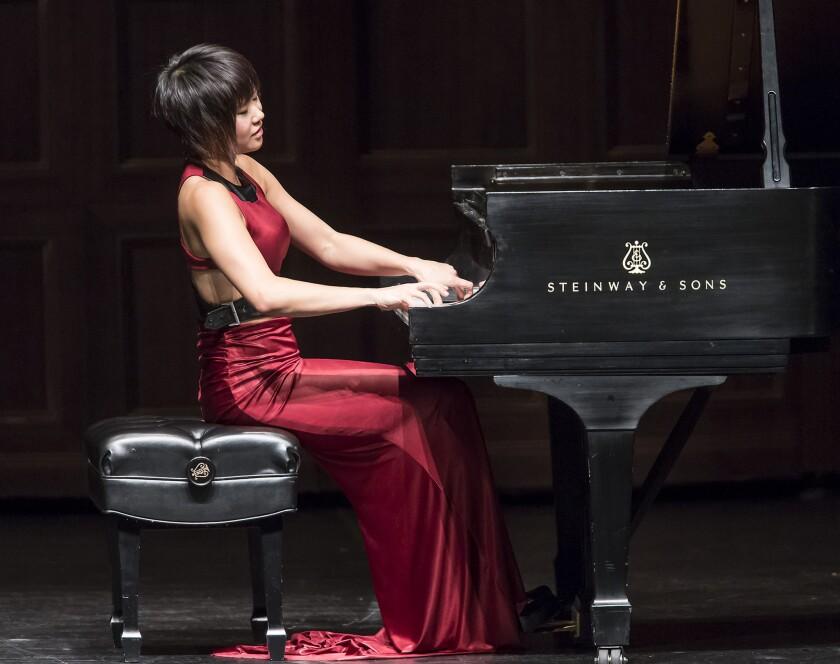 Yuja Wang slays Beethoven's monster piano piece —