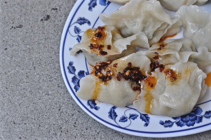 House of Bao, a new restaurant next to the Wal-Mart in Chinatown, offers dumplings on its menu.