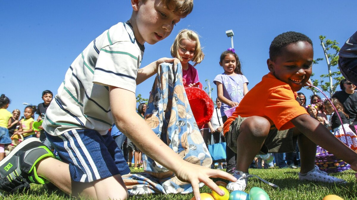 North Clairemont Community Park Christmas 2020 Easter 2019: 26 egg hunts to do all around San Diego County   The