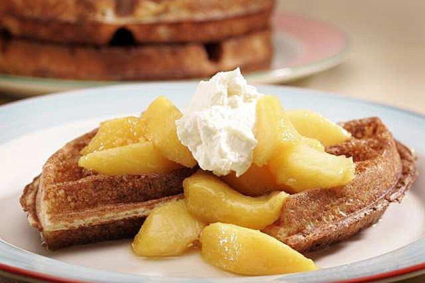 Yeast-raised waffles