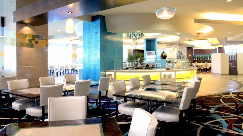 The stylishly-designed buffet at Viejas Casino & Resort looks – and tastes – like a gourmet restaura