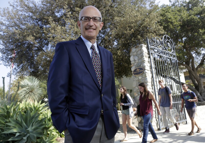 Donald Gould heads the Pitzer board of trustees' investment committee.