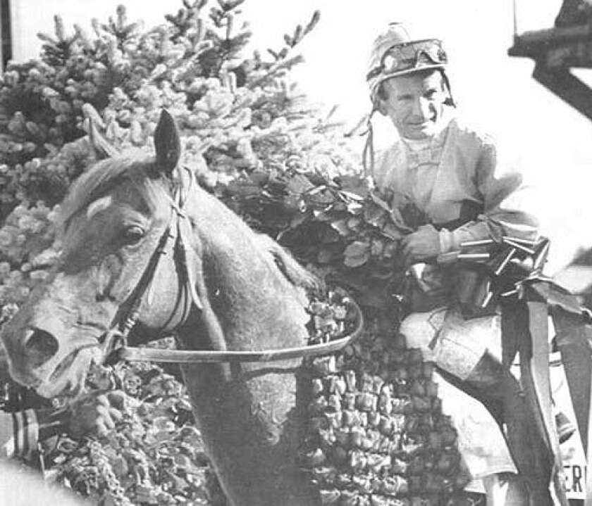 Among Bill Shoemaker's many accomplishments was becoming the oldest jockey to win the Kentucky Derby. He did that, at age 54, atop Ferdinand, above, in 1986.