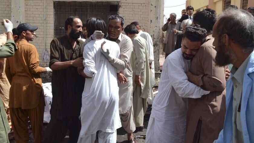 Bombing in Quetta
