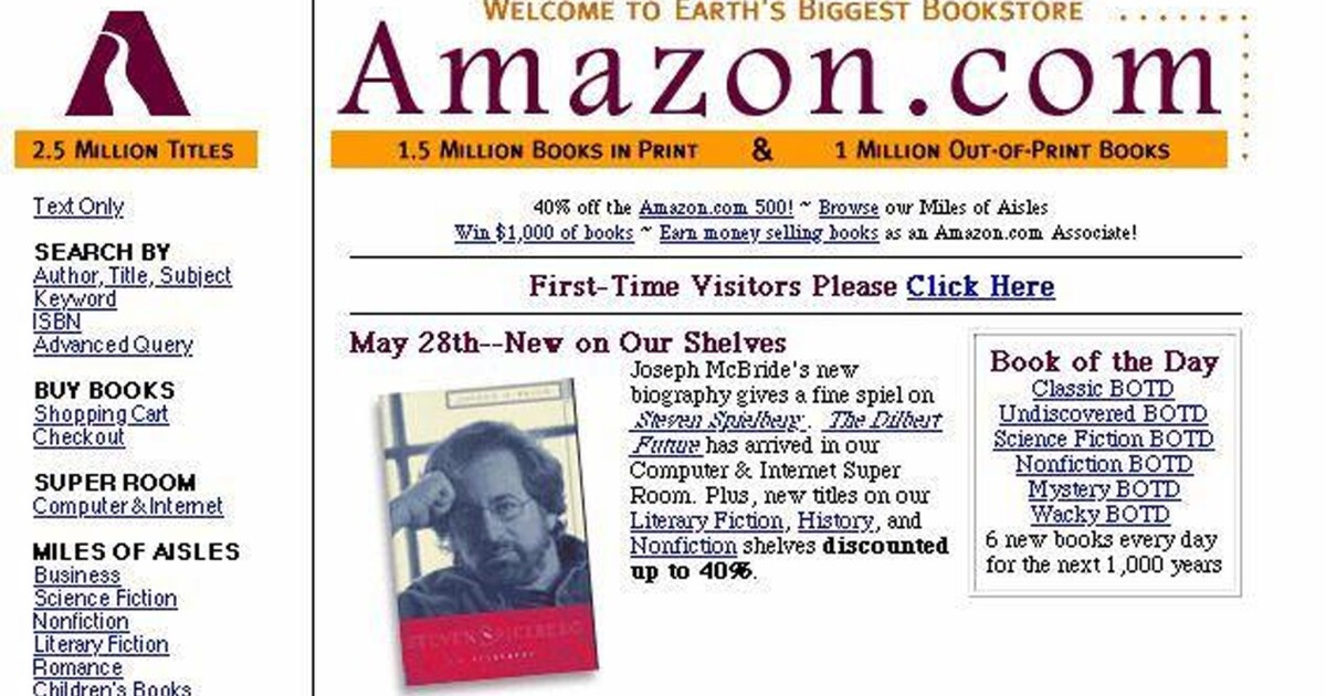 Remember When Amazon Only Sold Books Los Angeles Times