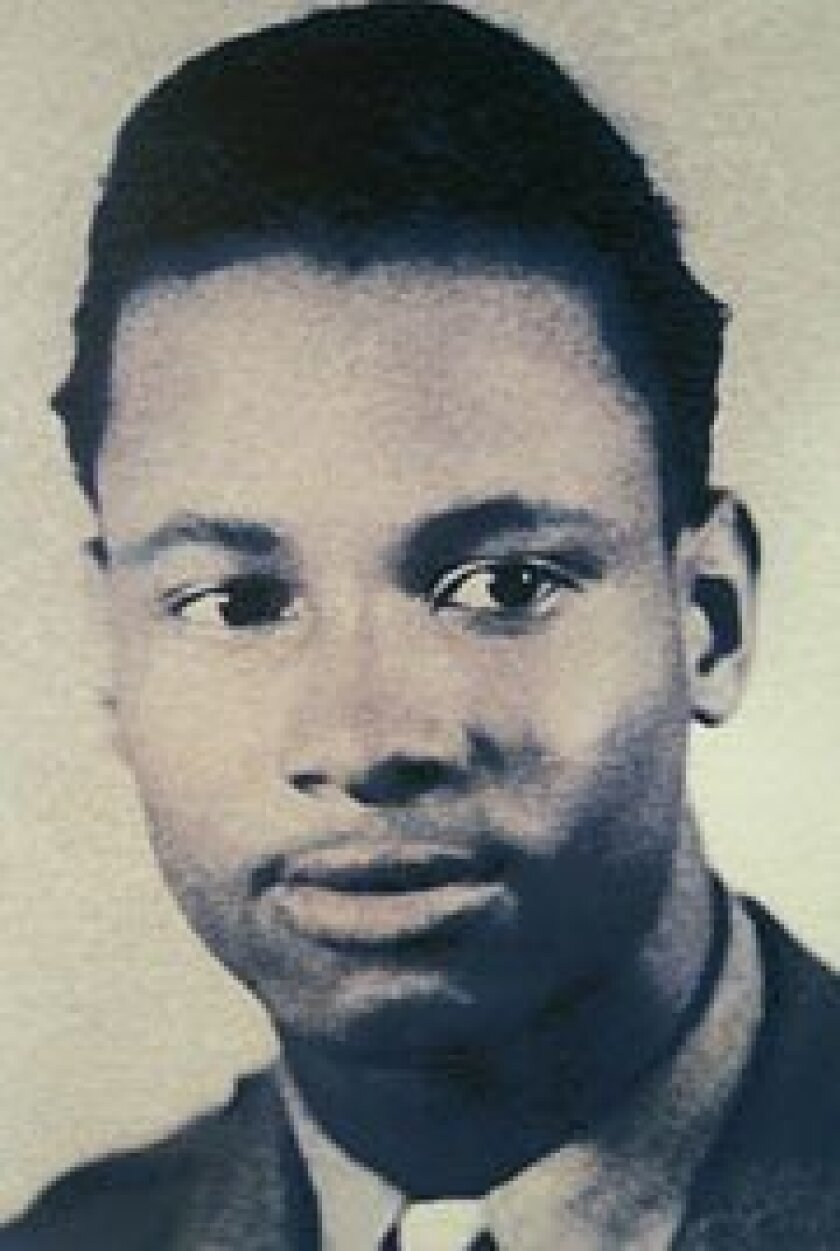 Pirtle (above, in 1944) says he trained at Tuskegee, Ala., but has been unable to prove it.