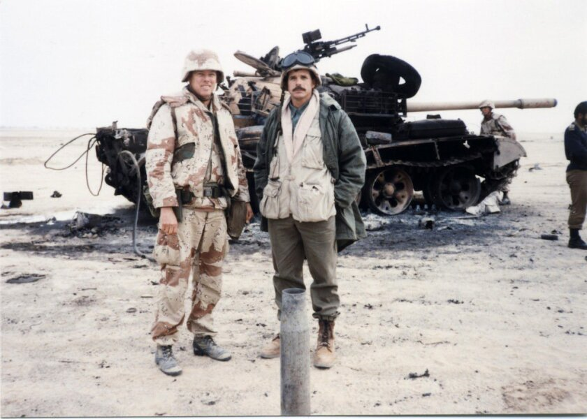 Brad Willis covered the Persian Gulf War for NBC.