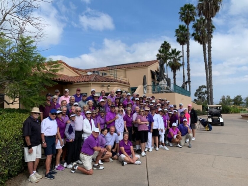 Bernardo Heights Country Club fundraising effort brought in more than $40,000 for three local cancer-fighting charities.