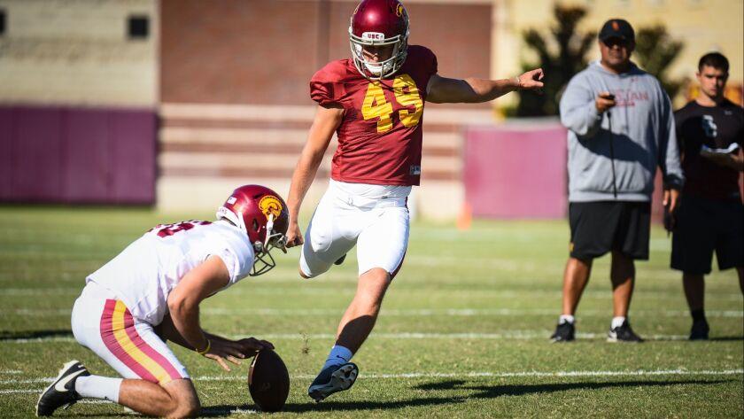 USC Football 2017 Fall Camp - John McGillen Photography