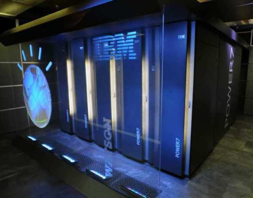 Watson, the all-knowing IBM computer