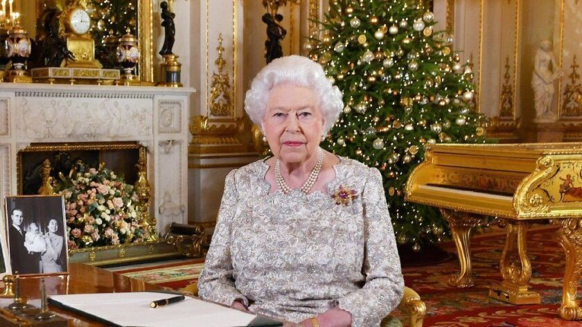 "Queen Elizabeth II's Christmas speech was criticized by some on Tuesday for appearing out of touch, as she delivered her remarks in front of an antique gold piano. The backlash was reminiscent of other criticisms of the queen during her reign, as dramatized by ""The Crown."""