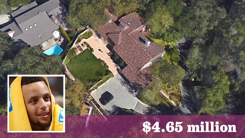 Golden State Warriors star has sold his home in Orinda, Calif., for $4.65 million.