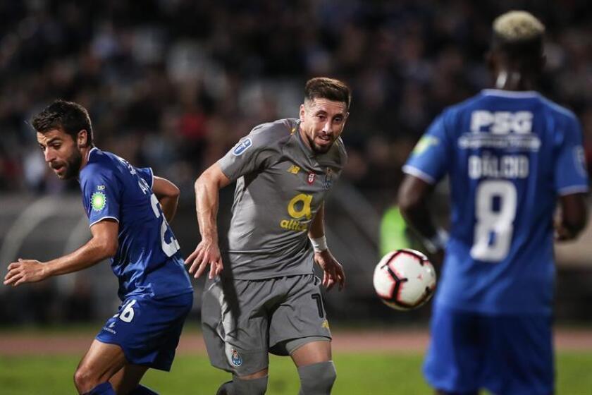 El Oporto inicia el 2019 como el equipo más sólido de Portugal y es el rival a batir por sus máximos perseguidores, ya que encabeza la tabla con cuatro puntos de diferencia sobre el segundo, el Benfica. EFE/Archivo