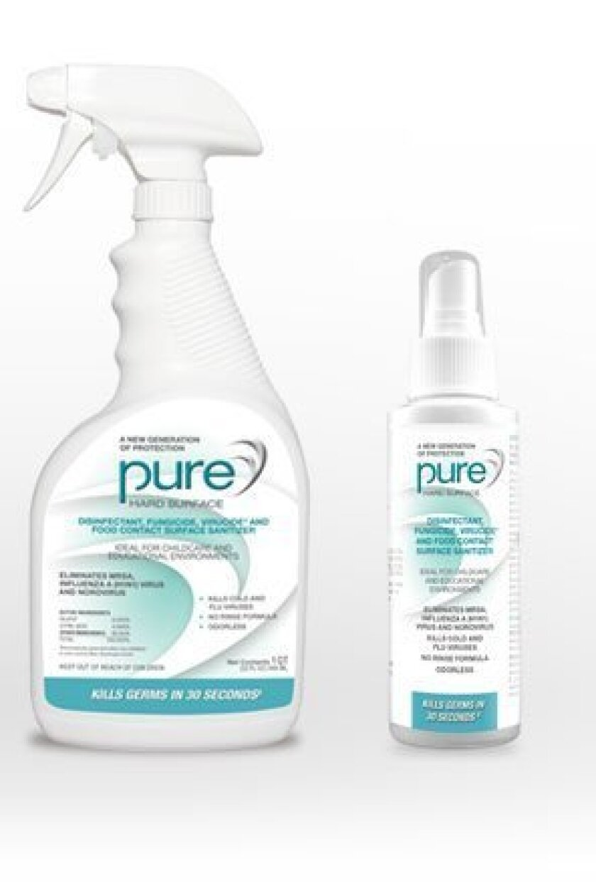 Pure Bioscience's Hard Surface disinfectant.