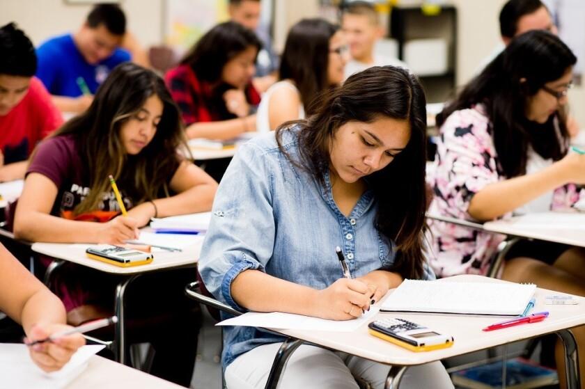 Estudiantes entre el octavo grado hasta el onceavo pueden tomar el test gratuitamente
