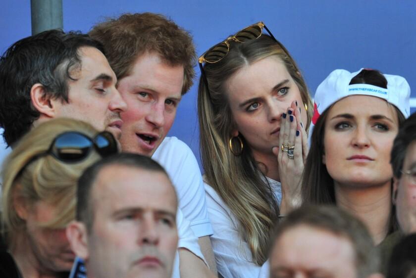 Prince Harry, girlfriend Cressida Bonas reportedly split - Los ...
