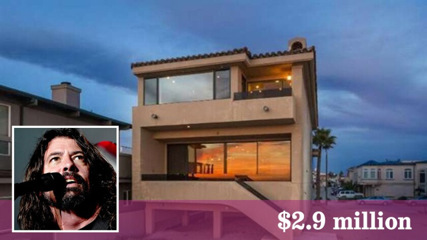 Singer-songwriter Dave Grohl had owned the property for close to a decade.