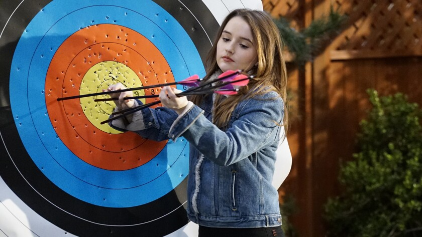 "Kaitlyn Dever in ""Last Man Standing"" on ABC."
