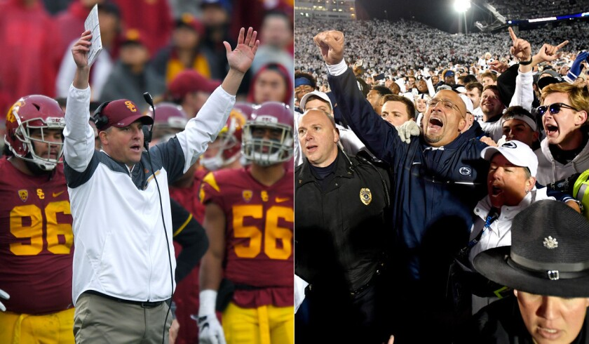 Clay Helton, James Franklin