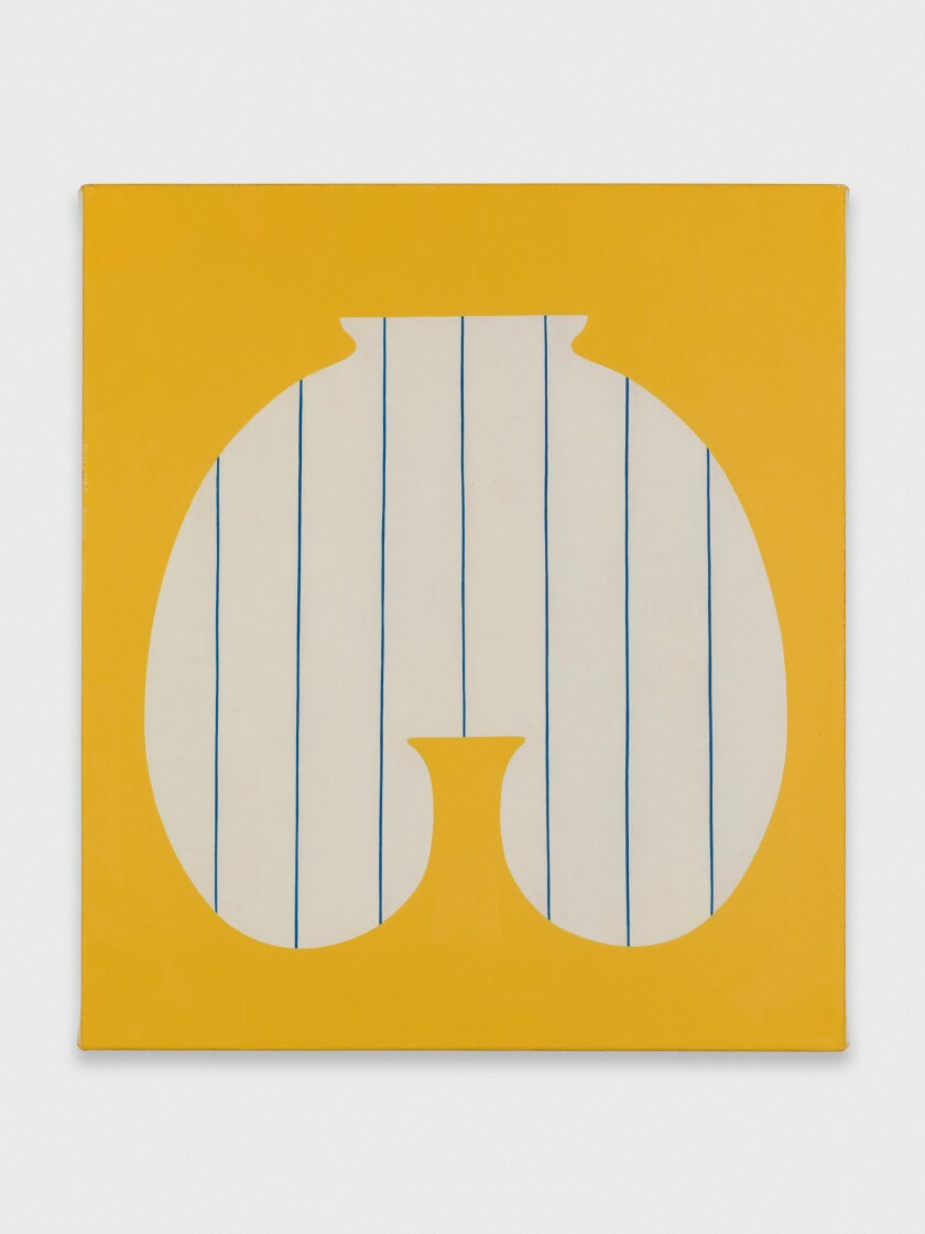 """""""Peer"""" by Alice Tippit, 2019. Oil on canvas, 16 inches by 14 inches."""
