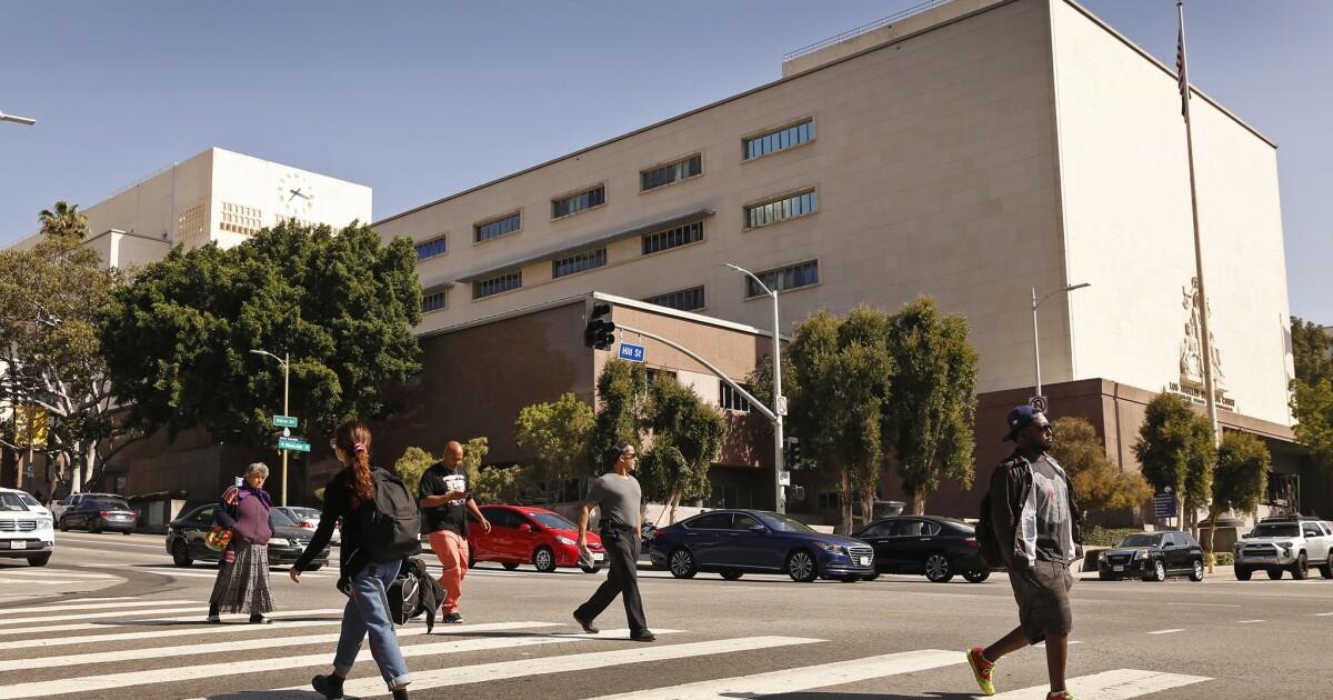 L. A. County pengadilan untuk ditutup selama beberapa hari di tengah coronavirus menyebar