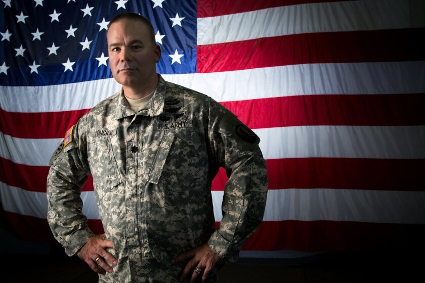 Lt. Col Nick Ducich is the new commander of the National Guard 79th Infantry Brigade Combat Team headquartered in San Diego.
