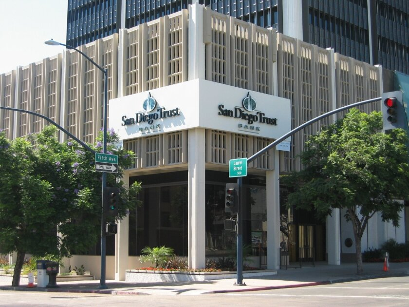 Founded in 2003, San Diego Trust Bank has $242 million in assets.