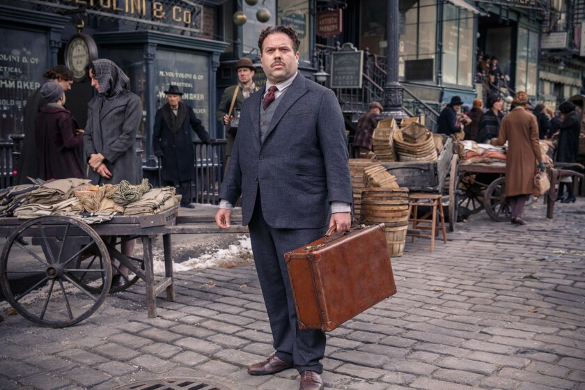 """Dan Fogler as Jacob Kowalski in """"Fantastic Beasts and Where to Find Them."""""""