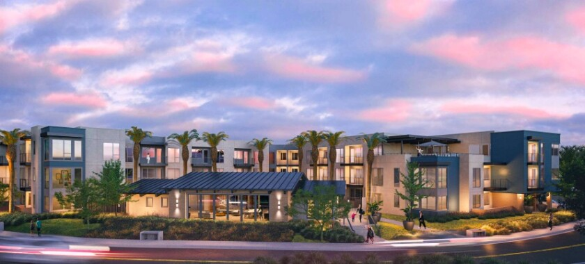 The proposed apartment building on Vulcan Avenue.