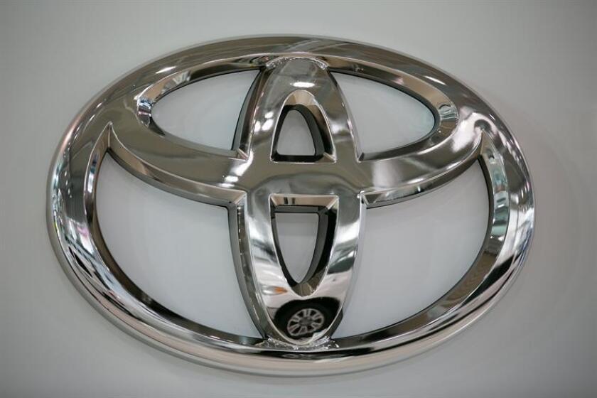 Vista del logo de Toyota. EFE/Archivo