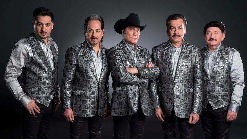 Mexican band Tigres del Norte fined for singing about drug smugglers