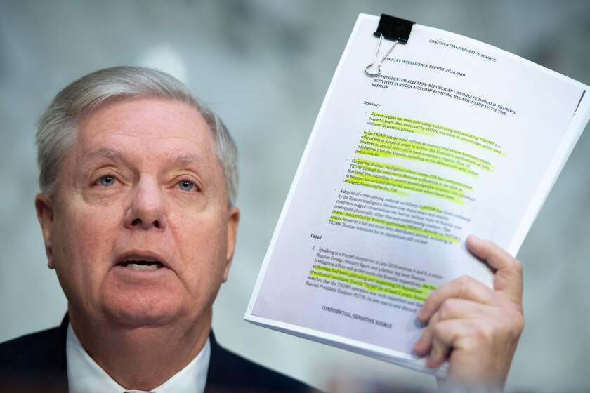 Opinion: Lindsey Graham's descent into full-blown Trumpism fascinates and puzzles readers