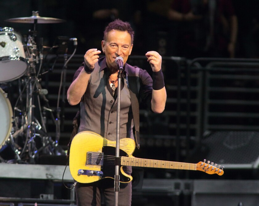 Bruce Springsteen canceled his concert in North Carolina, citing the state's new law blocking anti-discrimination rules that cover the LGBT community.