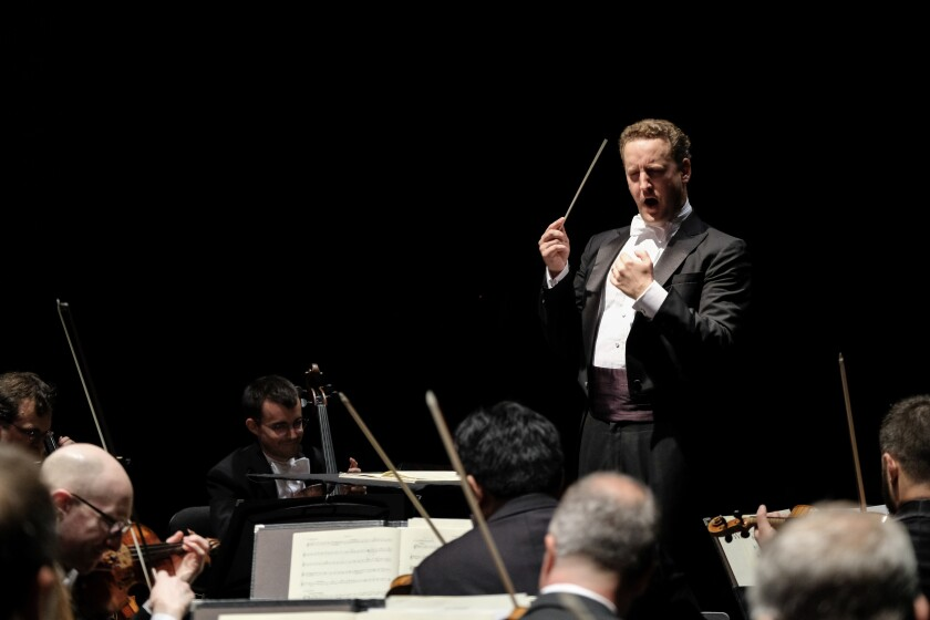 Mainly Mozart Festival music director Michael Francis