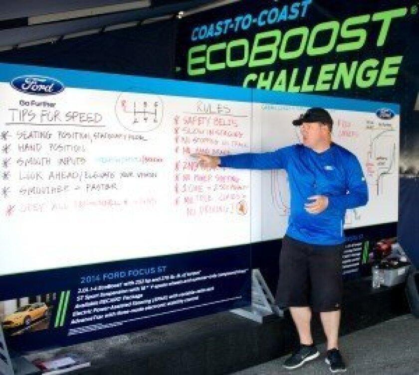 Fiesta ST autocross chalk talk